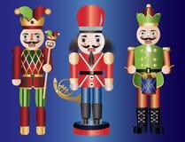 De Notekrakers van Kerstmis Royalty-vrije Stock Foto