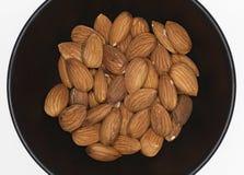 De noten van de amandel Stock Foto
