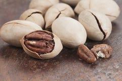 De noten van de pecannoot Royalty-vrije Stock Afbeelding