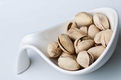 De noten van de pistache Stock Foto's