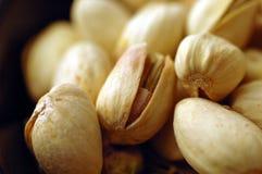 De Noten van de pistache (Dichte Omhooggaand) stock foto's