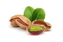 De noten van pistaches Stock Afbeeldingen