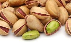 De noten van pistaches Stock Afbeelding