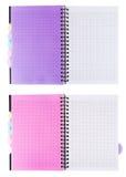 De notitieboekjes van de draai in de kooi Royalty-vrije Stock Afbeelding
