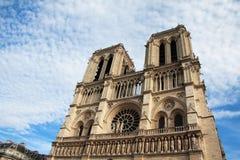 de notre巴黎贵妇人 免版税图库摄影