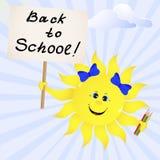 De nouveau à l'école. Image stock