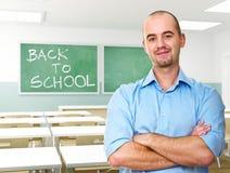 De nouveau à l'école Image libre de droits
