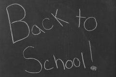 De nouveau à l'école ! Image stock