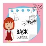 De nouveau à l'école Image stock