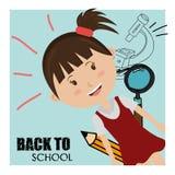 De nouveau à l'école Photo libre de droits