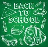De nouveau à l'image thématique 7 d'école Images libres de droits