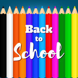 De nouveau à school-01 Images stock