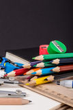 De nouveau au fond d'école (EPS+JPG) Image libre de droits