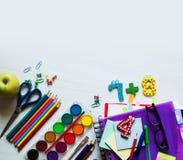 De nouveau au fond d'école (EPS+JPG) Photographie stock