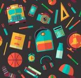 De nouveau au fond d'école (EPS+JPG) Illustration de vecteur Photographie stock libre de droits