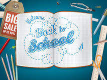 De nouveau au fond de vente d'école ENV 10 illustration libre de droits
