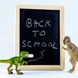 De nouveau au message d'école Images libres de droits