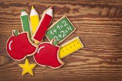 De nouveau aux biscuits d'école Photographie stock libre de droits
