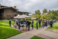 De nouveau aux futures fans à la Chambre de jeu à Pasadena Photos libres de droits