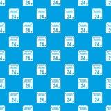 24 de novembro azul sem emenda do teste padrão do calendário Imagens de Stock