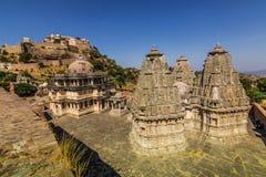 8 de novembro de 2014: Área em torno do forte de Kumbhalgarh, Índia Foto de Stock Royalty Free