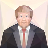 7 de novembro de 2016 Candidato presidencial Donald Trump dos EUA editorial ilustração do vetor