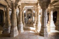 8 de novembro de 2014: Carvings detalhados das paredes dentro do Jai Imagem de Stock Royalty Free
