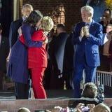 7 DE NOVEMBRO DE 2016, INDEPENDÊNCIA SALÃO, PHIL , PA - Hillary Clinton Holds Election Eve Get para fora a reunião do voto com Br Imagem de Stock