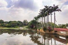 10 de novembro de 2014: Jardins botânicos de Bangalore, Índia Foto de Stock Royalty Free