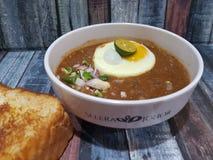 11 de novembro de 2016, Johor Malásia A associação local a mais popular de Kacang do alimento como o alimento da assinatura Imagens de Stock Royalty Free