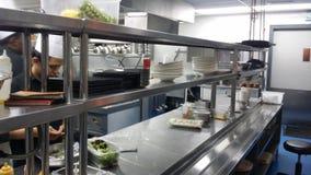 11 de novembro de 2016, Kuala Lumpur O equipamento moderno da cozinha do hotel Fotos de Stock Royalty Free
