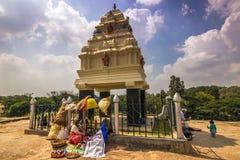 10 de novembro de 2014: Santuário nos jardins botânicos de Bangalore, Foto de Stock