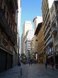 15 de Novembro Street Immagine Stock Libera da Diritti