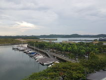 11 de noviembre de 2016 Jen Puteri Harbour Hotel Fotos de archivo