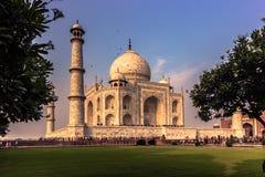 2 de noviembre de 2014: Taj Mahal en Agra, la India Imágenes de archivo libres de regalías