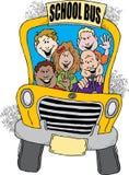 De nuevo al autobús escolar Foto de archivo