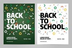 De nuevo a diseño del folleto de la escuela