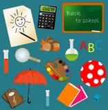 De nuevo a diseño de la escuela Fotografía de archivo