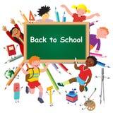 De nuevo a escuela. libre illustration