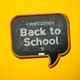 De nuevo a escuela. Imagen de archivo