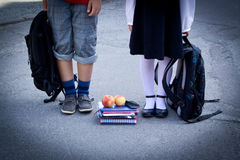 De nuevo a escuela Fotos de archivo libres de regalías
