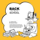 De nuevo a escuela Imagen de archivo libre de regalías