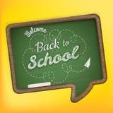 De nuevo a escuela EPS 10 Imagen de archivo libre de regalías