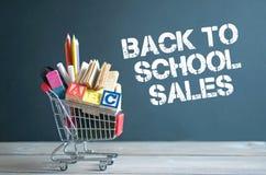 De nuevo a ventas de la escuela Fotos de archivo