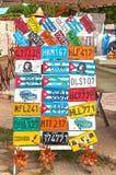 De nummerplaten Cuba van het herinneringsvoertuig Royalty-vrije Stock Foto