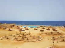 De Oase Dive Resort, Marsa Alam, Egypte royalty-vrije stock fotografie