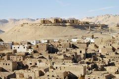 De Oase van Al Qasr Village - Dakhla-- Egypte royalty-vrije stock foto's
