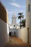 De oase van Berber van Ghadames, Libië Royalty-vrije Stock Foto's