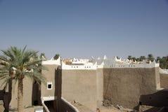 De oase van Berber van Ghadames, Libië Stock Afbeeldingen