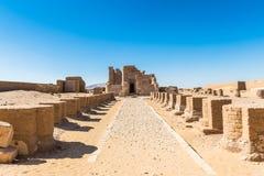 De Oase van Dakhla, Egypte royalty-vrije stock afbeelding